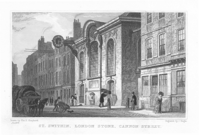 St_Swithins_London_Stone_church_1831