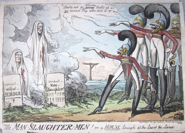 A caricature by George Cruikshank (source)