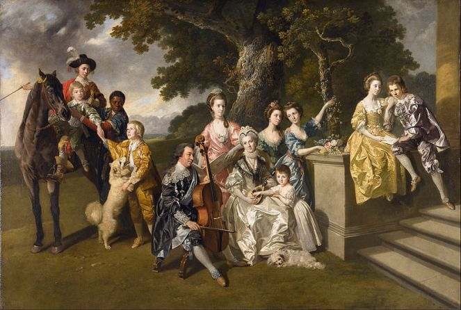 The Family of Sir William Young, by Johann Zoffany, c.1767 (image from Wikimedia Commons)