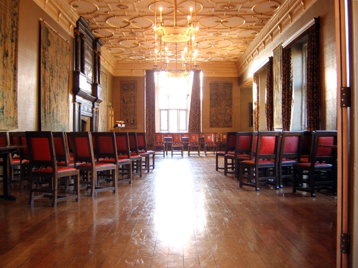 The beautiful room where Dr Porter's lecture took place (image courtesy of Nicholas Jackson on Wikimedia Commons)