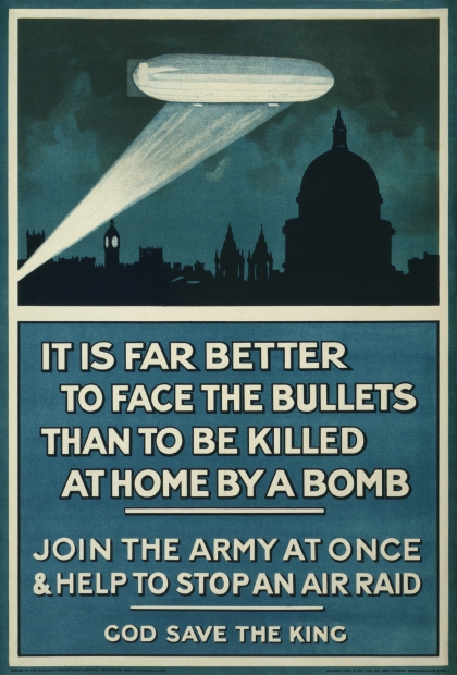 1915 Army recruitment poster