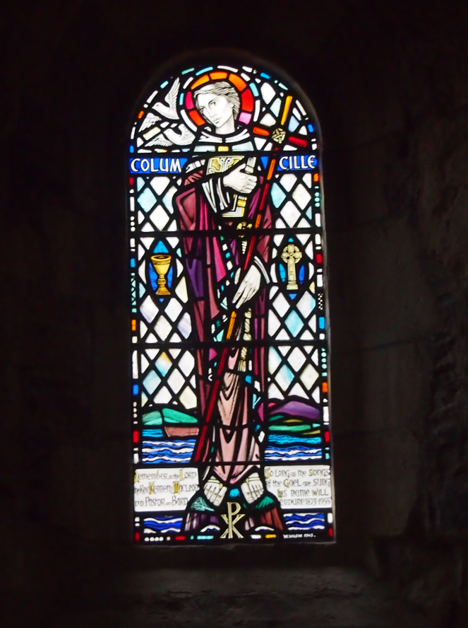 St Columba, or Colm Cille