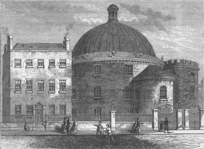 Spa Fields Chapel, as seen in Walter Thornbury's Old and New London: Volume 2