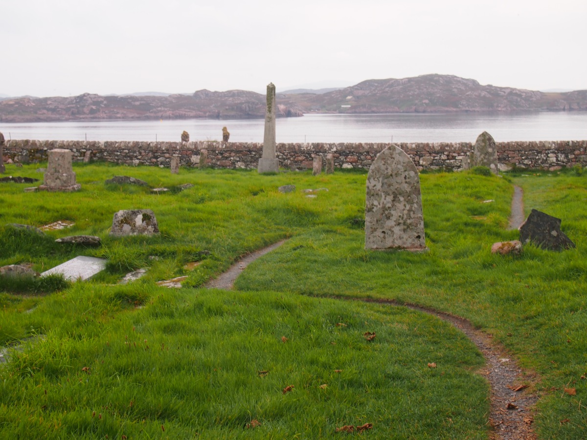 Rèilig Odhrain, the ancient cemetery on the edge of the world