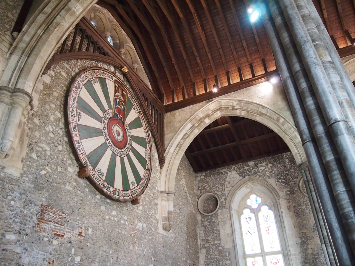 The many reinventions of Winchester Castle's Great Hall
