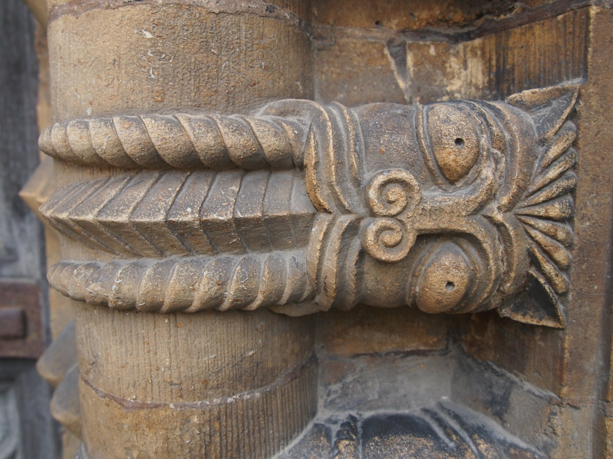 The precious Romanesque carvings at Lincoln Cathedral