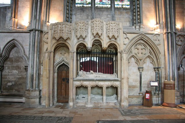 The Fleming Chantry at Lincoln Cathedral. Image by Richard Croft (via Wikimedia Commons)