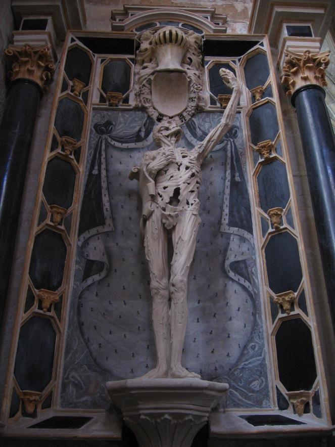 Transi of René du Chalon in Bar-le-Duc, France (image via Wikimedia Commons)