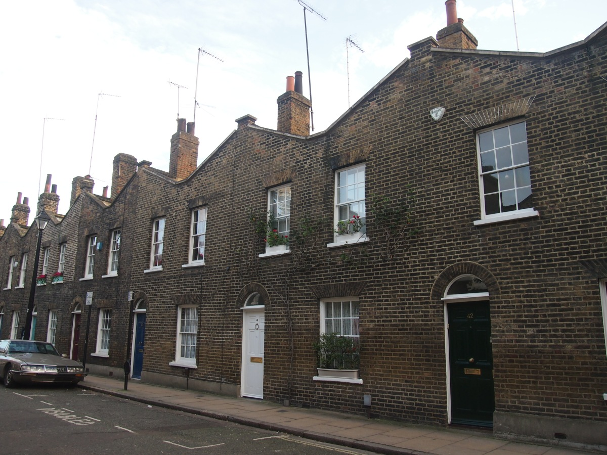 "Discovering the ""impossibly handsome"" Roupell Street"