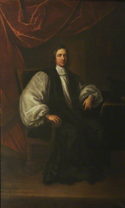 Henry Compton (1632-1713) (c) Christ Church, University of Oxford; Supplied by The Public Catalogue Foundation