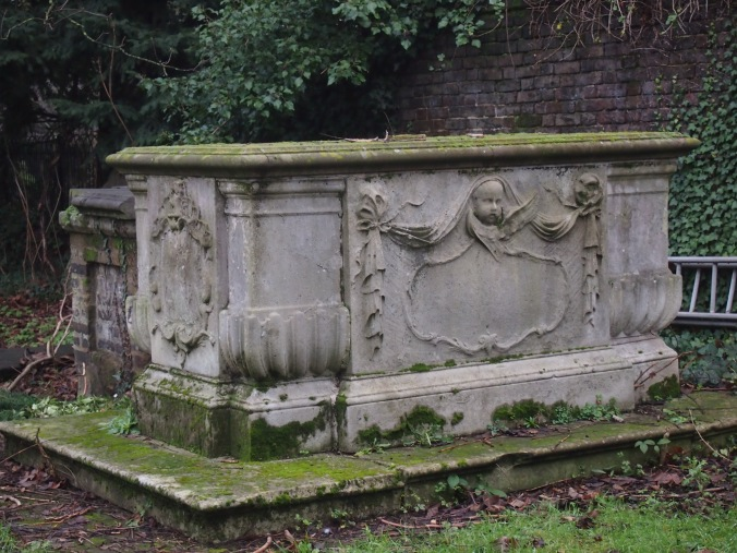 Tomb of politician Francis Gashry (1702-1762)