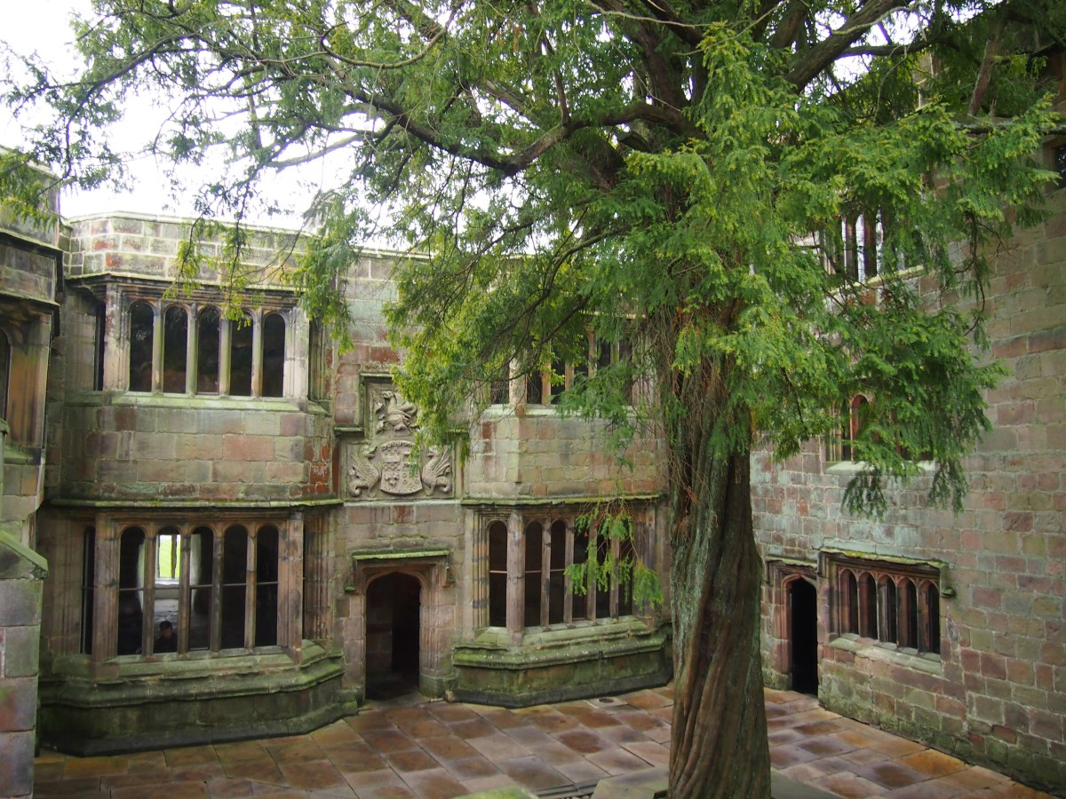 The hidden courtyard of one of England's best preserved castles