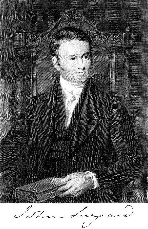 John Lingard (image from Wikimedia Commons)