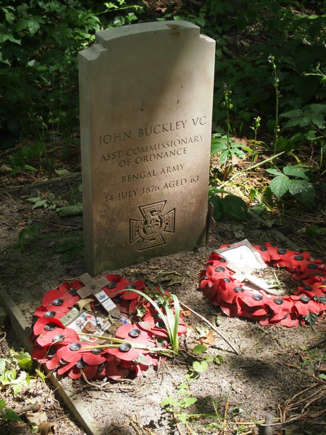 The grave of John Buckley VC