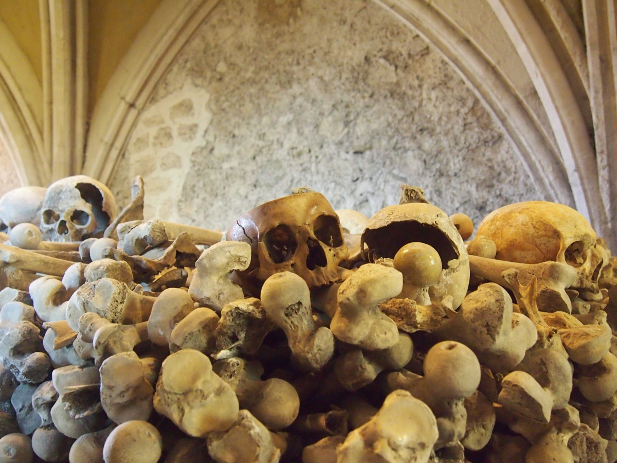 The extraordinary ossuary at St Leonard's Church, Hythe