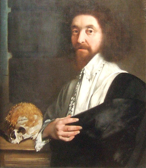 Portrait of John Tradescant the Younger, attributed to Thomas De Critz (image from Wikimedia Commons)