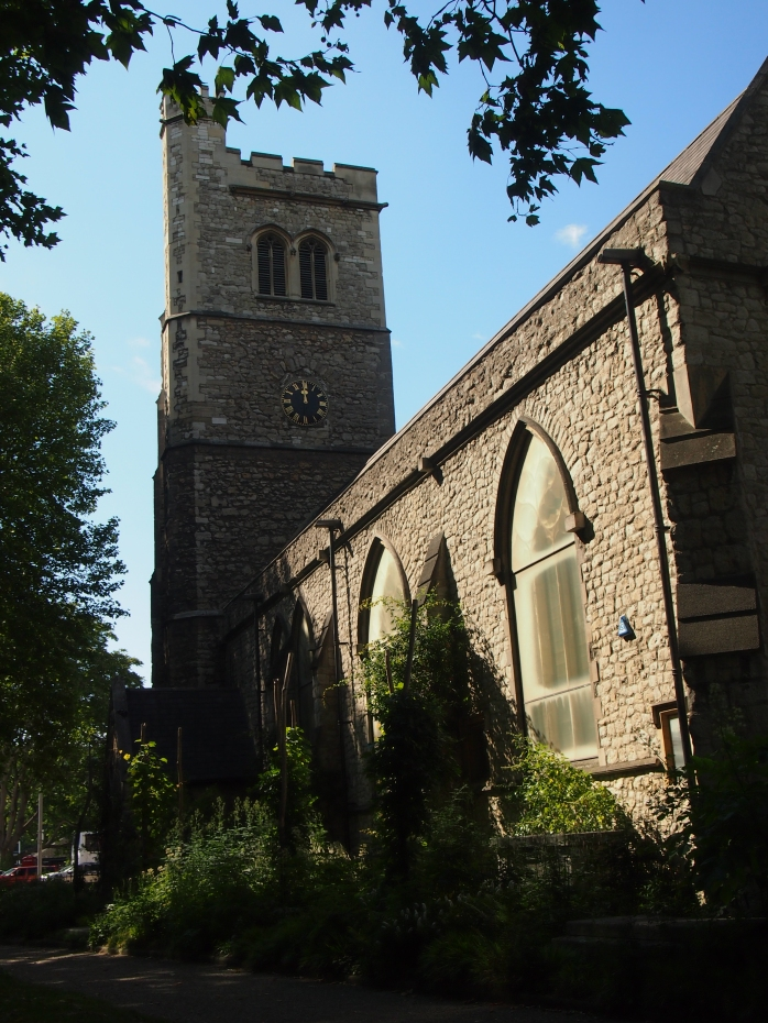 The former church of St Mary at Lambeth houses the Garden Museum