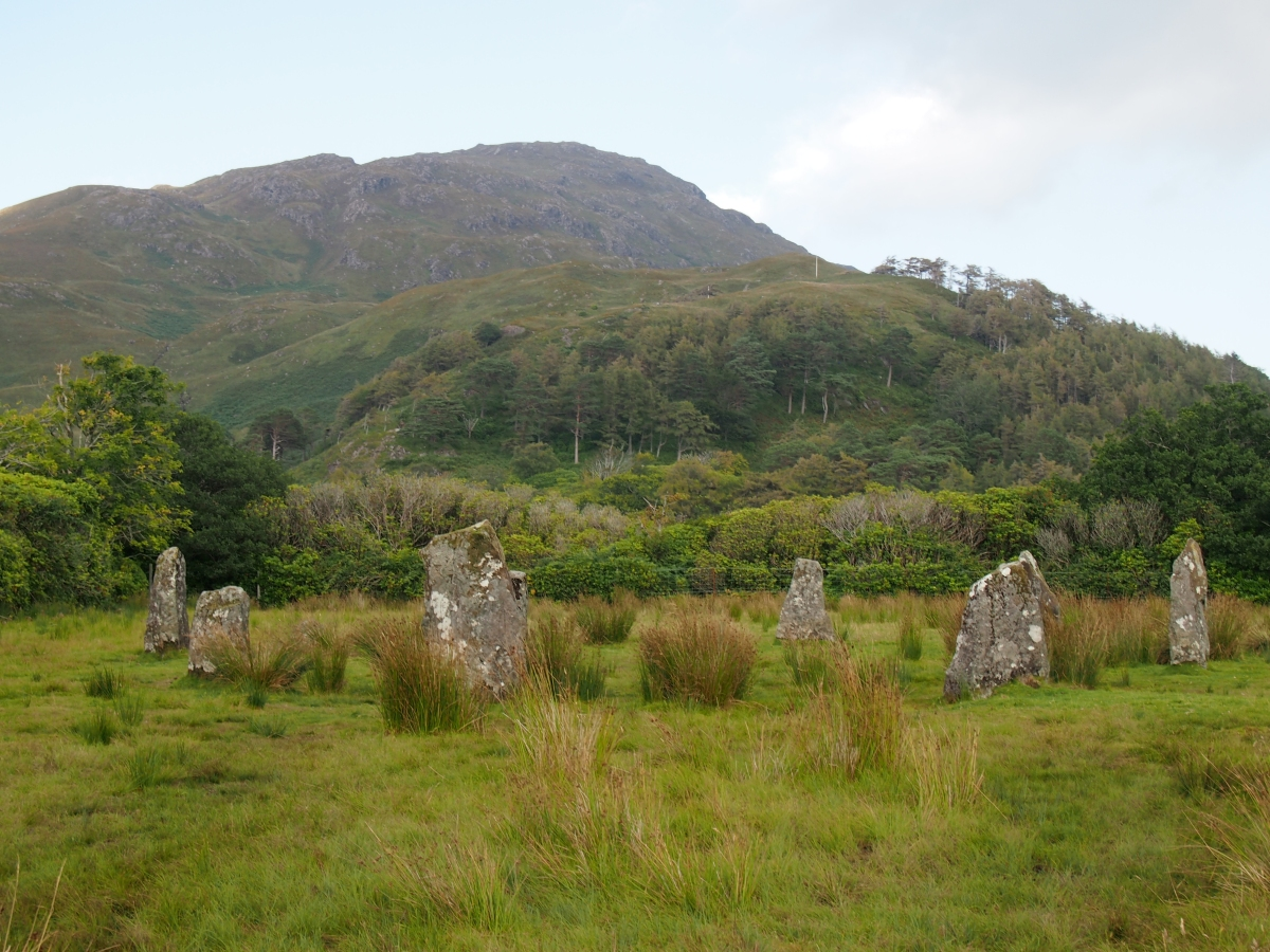 The mysterious and majestic stone circle at Lochbuie