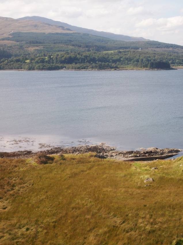 The rocky shores where a ship was wrecked close to Duart Castle in [year]