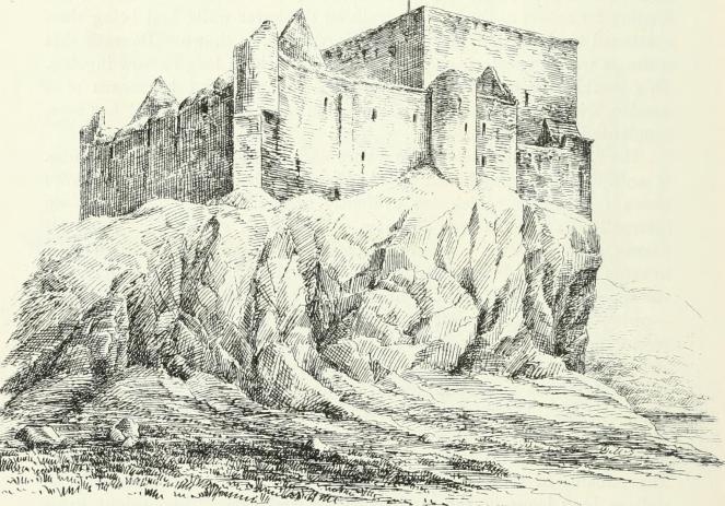 "Image of the ruined Duart Castle from the 1887 book ""The castellated and domestic architecture of Scotland, from the twelfth to the eighteenth century"" (image via Wikimedia Commons)"
