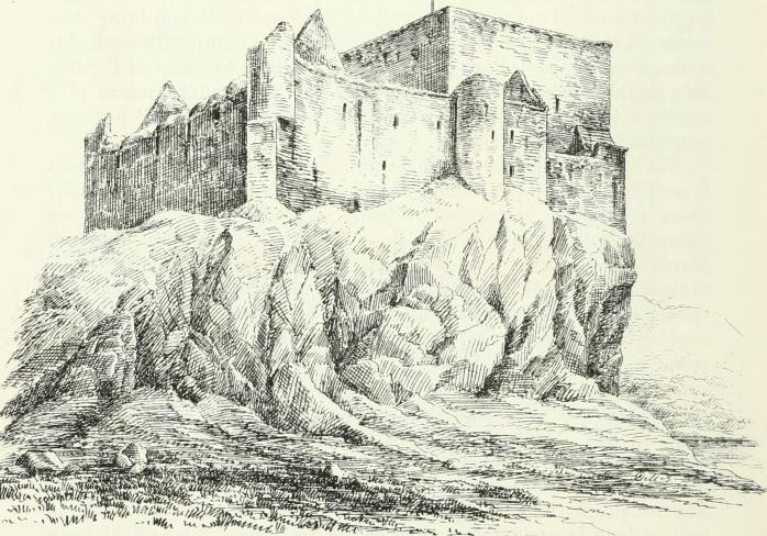 """Image of the ruined Duart Castle from the 1887 book """"The castellated and domestic architecture of Scotland, from the twelfth to the eighteenth century"""" (image via Wikimedia Commons)"""