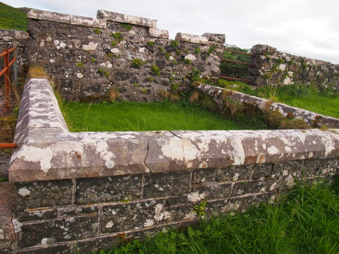 Was this impressive-looking enclosure ever used? Or are the graves within simply unmarked