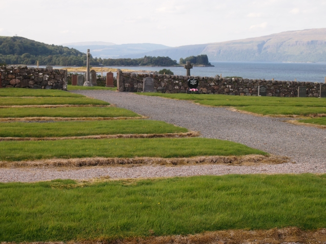 A new burial ground has been laid out to the south of the established graveyard at Kirkpatrick