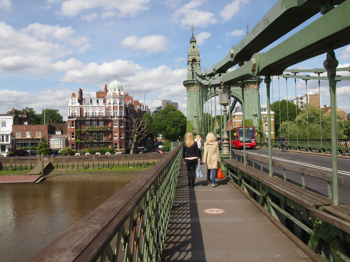 Hammersmith Bridge: tales of bombs, boat races and Bazalgette