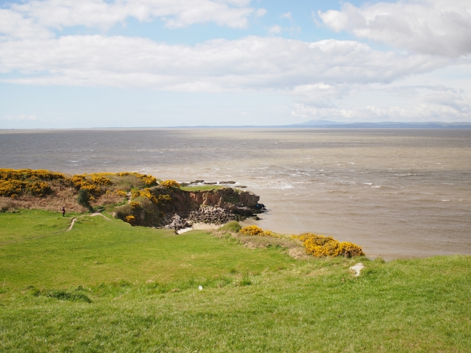 Looking across Morecambe Bay to Barrow-in-Furness and the Lake District