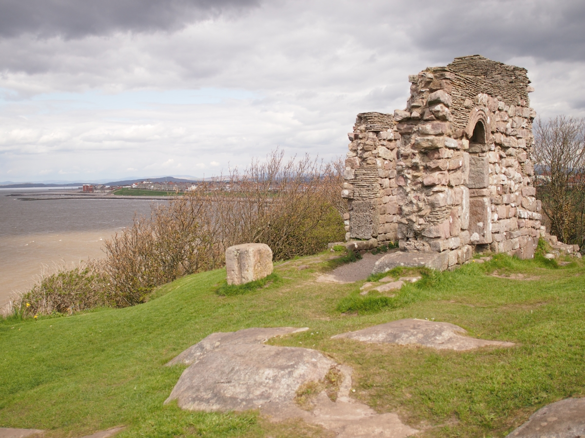 The ancient rock-cut tombs by the Lancashire coast