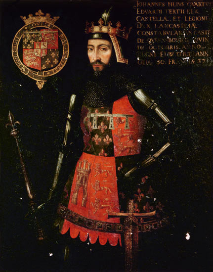 John of Gaunt, once a resident of Ely Place (image via Wikimedia Commons)