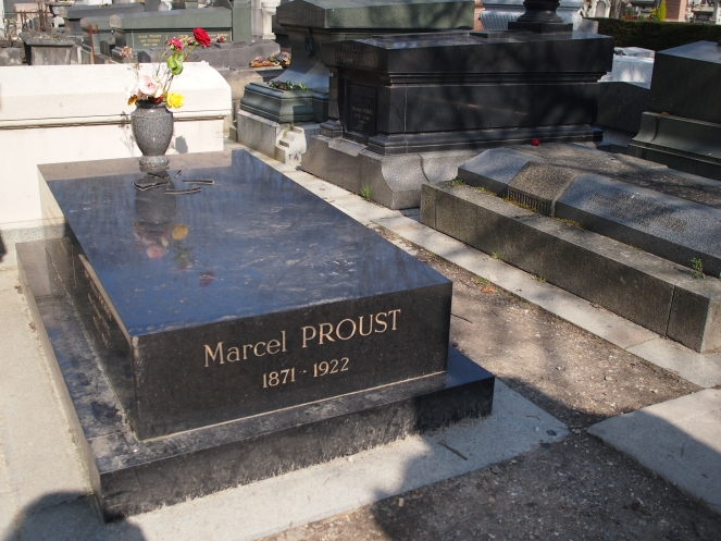 Author Marcel Proust is one of the many famous figures buried at
