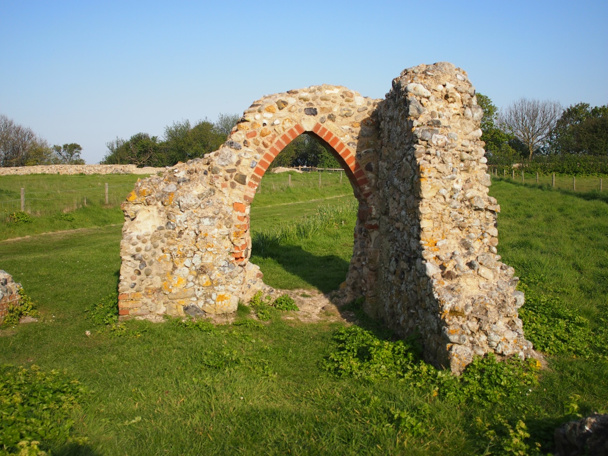 The last ruins of Dunwich, Suffolk's lost medieval town