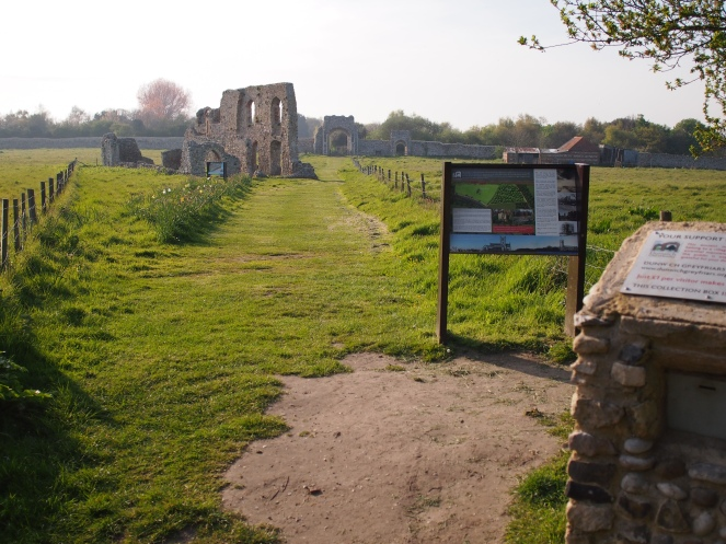 Today it's quite hard to believe that Dunwich was once one of the largest towns in England