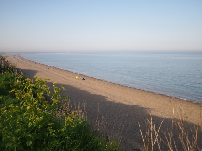 Most of medieval Dunwich now lies under the sea