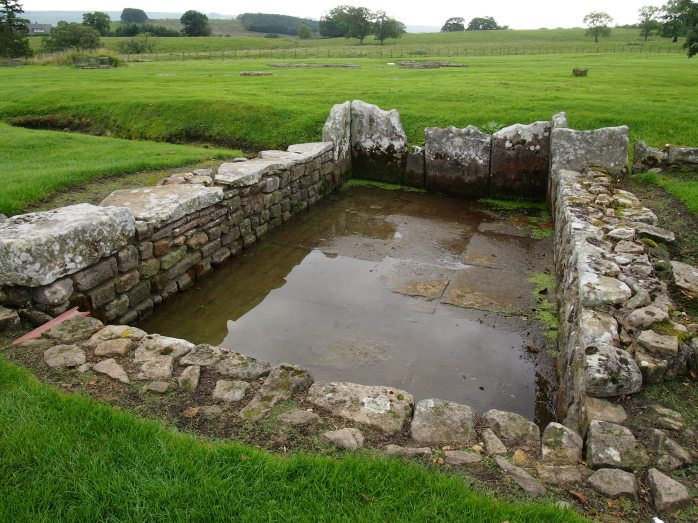 The wet conditions at Vindolanda made it possible for organic materials such as the writing tablets to be preserved for many centuries
