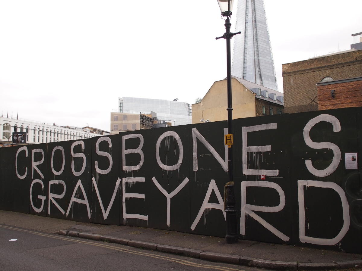 Cross Bones: a modern shrine to old London's outcast dead